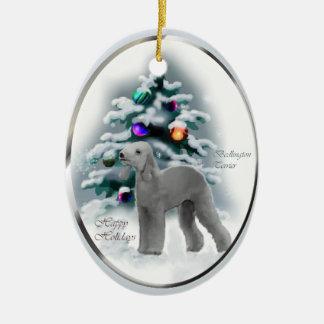 Ornamento de los regalos del navidad de Bedlington Ornamentos Para Reyes Magos