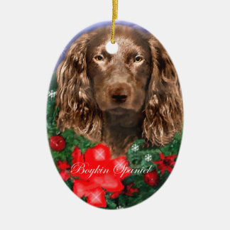 Ornamento de los regalos del navidad del perro de ornamentos de reyes