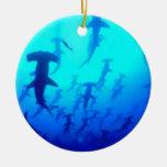 Ornamento de los tiburones de Hammerhead Ornamente De Reyes