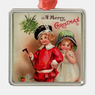 Ornamento de lujo del navidad de Childreen del Vic Ornamentos De Navidad