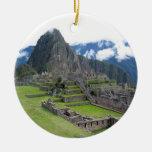 Ornamento de Machu Picchu Adorno De Navidad