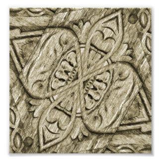 Ornamento de madera foto