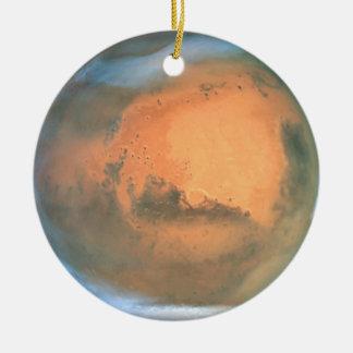 Ornamento de Marte Adorno Navideño Redondo De Cerámica