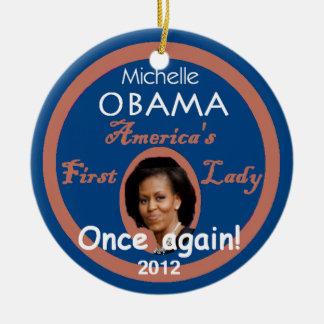 Ornamento de Michelle 2012 Ornamento De Navidad