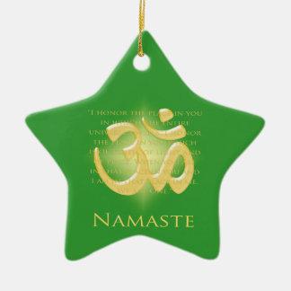 Ornamento de Namaste Adorno