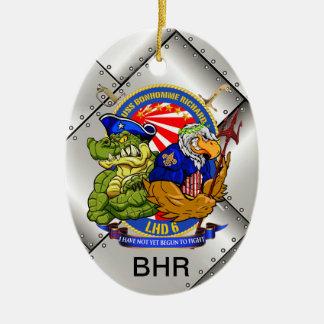 Ornamento de Navidad de USS BHR LHD-6