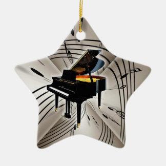 Ornamento de Navidad del navidad del teclado de