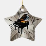 Ornamento de Navidad del navidad del teclado de pi