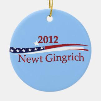 Ornamento de Newt Gingrich Adorno Para Reyes