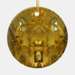 Ornamento de Notre Dame la ciudad de Quebec Canadá Adorno