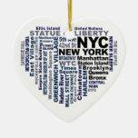 Ornamento de NYC - personalizable Ornamento De Reyes Magos