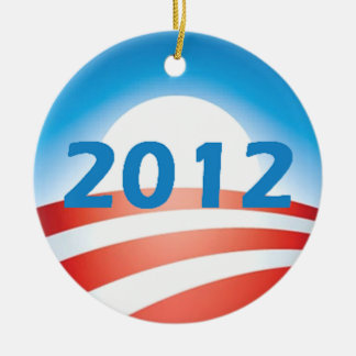 Ornamento de Obama 2012 Ornamento Para Arbol De Navidad