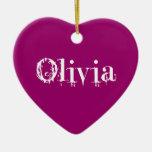 Ornamento de Olivia Ornamento De Navidad