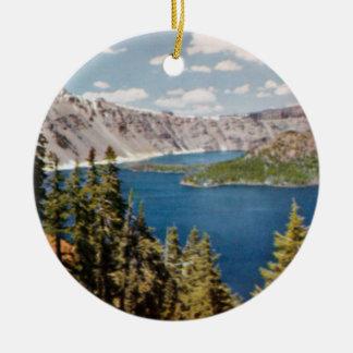 Ornamento de Oregon del lago crater Adorno Para Reyes