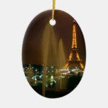 Ornamento de París Adorno De Navidad