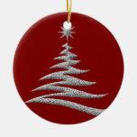 ornamento de plata del árbol de navidad ornamento para reyes magos