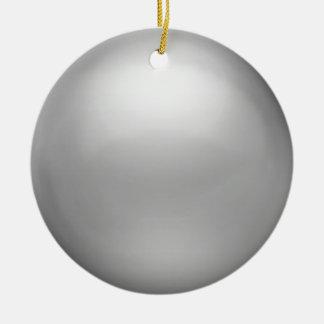 Ornamento de plata del orbe ornamentos de reyes