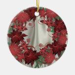 Ornamento de Poinssettia Ornamente De Reyes