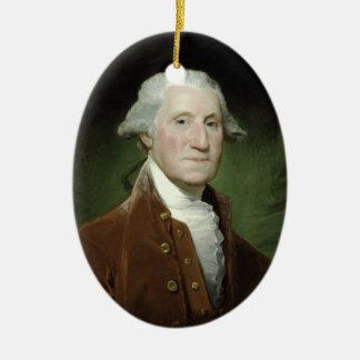 Ornamento de presidente George Washington Ornamento De Navidad