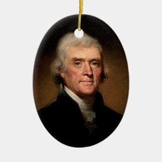 Ornamento de presidente Thomas Jefferson Ornamento De Reyes Magos