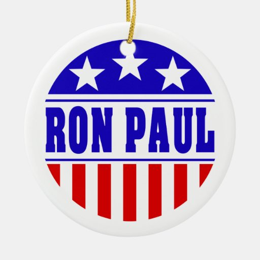 Ornamento de Ron Paul Adorno