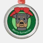 Ornamento de Rottweiler Ornamentos De Reyes