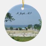 Ornamento de San José Michigan Ornato