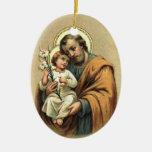 Ornamento de San José Ornato