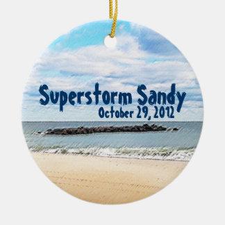 Ornamento de Sandy del Superstorm Ornamento De Reyes Magos