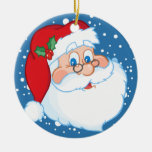 Ornamento de Santa Adornos De Navidad