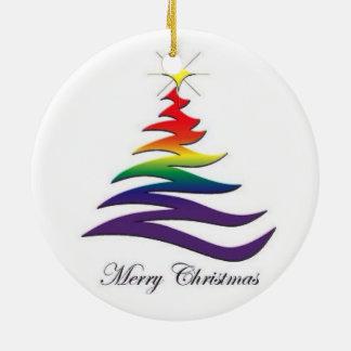 Ornamento de Santa y del gay de Twink Ornamento De Reyes Magos