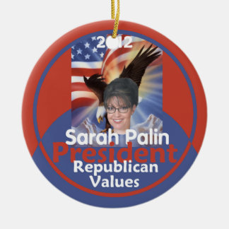 Ornamento de Sarah Palin 2012 Adorno