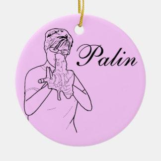 Ornamento de Sarah Palin Ornatos