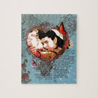 Ornamento de señor Rama Bollywood God Aum floral Puzzle