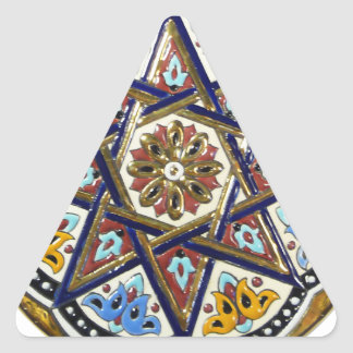 Ornamento de Sevilla Pegatina Triangular