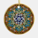Ornamento de Shalom de la mandala Adorno Para Reyes