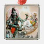 Ornamento de Shiva y de Ganesha Adorno De Navidad
