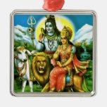 Ornamento de Shiva y de Parvati Adorno