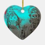 Ornamento de Shiva y de Parvati Ornamentos Para Reyes Magos