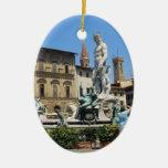 Ornamento de Signoria del della de la plaza Ornamento Para Arbol De Navidad