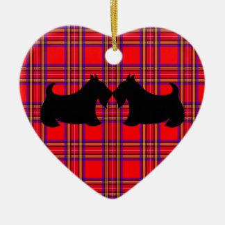Ornamento de Terrier del escocés Adornos