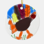 Ornamento de Turquía de la mano Ornamentos Para Reyes Magos