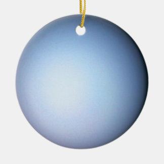 Ornamento de Urano Ornamento Para Arbol De Navidad