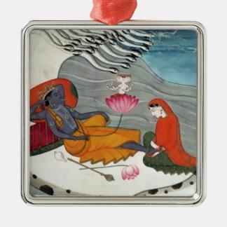 Ornamento de Vishnu y de Lakshmi Adornos De Navidad