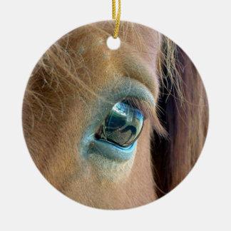 Ornamento de Vision del caballo Ornamento Para Arbol De Navidad