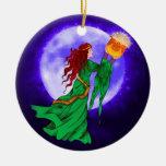 Ornamento de Wiccan Yule del Celtic de Cerridwen Adorno De Navidad