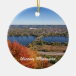 Ornamento de Winona: Winona en otoño Ornamento Para Arbol De Navidad