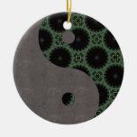 Ornamento de Yin Yang Adorno