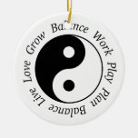 Ornamento de Yin Yang de la balanza Adornos