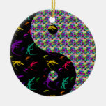 Ornamento de Yin Yang del dragón Ornamento Para Arbol De Navidad
